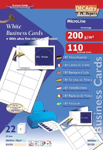 Decadry business card software free download nixnational for Decadry business card template