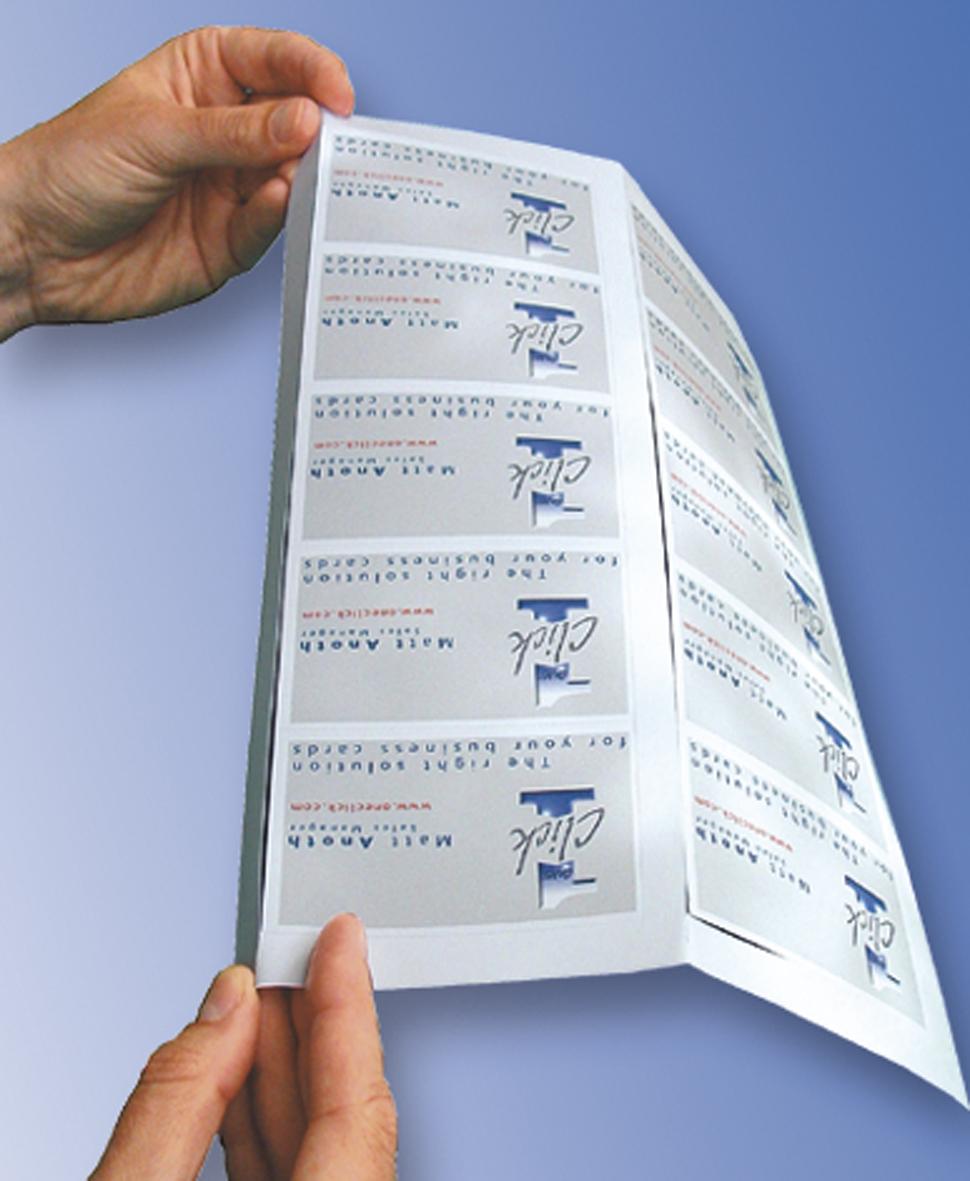OneClick Technologie DCC727 Carte De Visites Oneclick Jet Dencre 85 X 54 Mm OCC3728 OCC3727